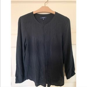 Madewell Silk Button Up